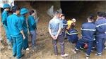 Vụ sập hang khai thác vàng trái phép ở Hòa Bình: Dốc sứctìm kiếm nạn nhân còn lại