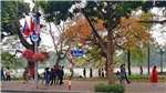 Chùm ảnh: Hà Nội trang hoàng đường phố chào mừng Hội nghị thượng đỉnh Mỹ - Triều Tiên lần 2