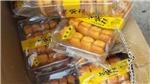 Tạm giữ hơn 5.400 gói bánh bông lan Trung Quốc không có giấy tờ