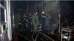 Cháy lớn thiêu rụi hàng loạt ki ốt tại chợ đầu mối lớn nhất Thanh Hóa