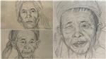 Xem những tuyệt phẩm ký họa chì của họa sĩ tài ba Huỳnh Văn Thuận