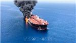 Sự cố tàu trên Vịnh Oman: Nhật Bản đề nghị Mỹ đưa ra bằng chứng rõ ràng về hành động tấn công