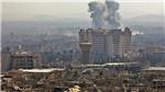 Nổ kho đạn ở thủ đô Damascus do bị trúng tên lửa?
