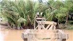 Sà lan làm sập cầu Sông Mã, thành phố Bến Tre