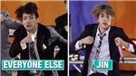 10 lần máy ảnh cũng không thể 'dìm hàng' được vẻ đẹp trai của Jin BTS