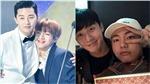 V BTS gửi lời nhắn ủng hộ cậu bạn thân thiết Park Seo Joon