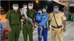 Hai bé trai đi bộ từ Hậu Giang sang Cần Thơ tìm bố đã được Công an đưa về an toàn