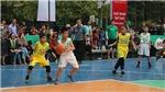 Khai mạc VCK giải bóng rổ học sinh Tiểu học Hà Nội 2020