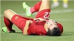 Cận cảnh chấn thương của Tiến Linh khiến ông Park phải lo lắng