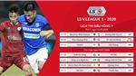 Cập nhật kết quả bóng đá và bảng xếp hạng V-League 2020