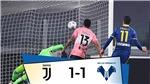 Video clip bàn thắng trận Juventus 1-1 Hellas Verona