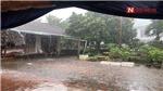Huy động lực lượng khắc phục hậu quả dông lốc, mưa đá