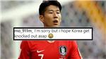 CĐV Tottenham 'trù ẻo' Hàn Quốc sớm bị loại khỏi Asian Cup