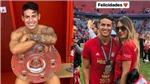 James Rodriguez khoe bạn gái mới bốc lửa ngày Bayern vô địch Bundesliga