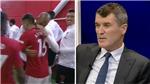 Cầu thủ MU và Liverpool ôm hôn nhau trong đường hầm, khiến Roy Keane 'ghê tởm'