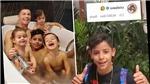 Con trai Ronaldo mở Instagram, gây sốt với video nói 4 thứ tiếng