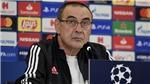 HLV Sarri: 'Tương lai của tôi ở Juve không phụ thuộc vào trận đấu với Lyon'