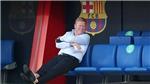 Koeman chưa được công nhận là HLV của Barcelona