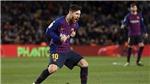 Barcelona 5-1 Ferencvaros: Messi lập kỷ lục, Pique bị đuổi, Barca thắng dễ