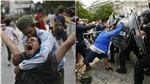 CĐV ẩu đả với cảnh sát trong đám tang Diego Maradona