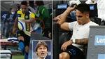 Inter: Conte mắng thẳng mặt Martinez vì phản ứng khi bị thay ra