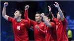 KẾT QUẢ BÓNG ĐÁ FUTSAL: Việt Nam giành chiến thắng lịch sử trước Australia