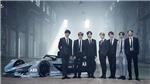 'Đau tim' trước tạo hình của BTS trong trang phục đua xe
