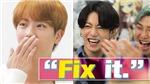 Jin BTS gặp thần tượng, phút trước bối rối phút sau đã 'trở mặt' thế này