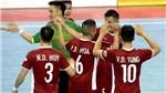 TRỰC TIẾP bóng đá futsal Đông Nam Á hôm nay: Việt Nam đấu với Indonesia. Trực tiếp trên VTC3, VTC8, BĐTV