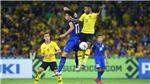 19h45 hôm nay, Malaysia vs Thái Lan:Người Thái đòi nợ? (Trực tiếp Thể thao TV, HTV1)