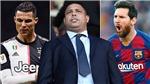 Huyền thoại Ronaldo béo khen Messi hết lời, phớt lờ CR7