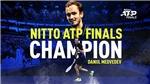 Thắng ngược Dominic Thiem, Medvedev vô địch ATP Finals 2020
