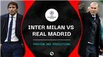 Lịch thi đấu bóng đá hôm nay: Trực tiếp Inter Milan vs Real Madrid, Liverpool vs Atalanta. K+, K+PM