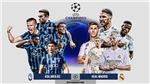 Lịch thi đấu bóng đá hôm nay. Trực tiếp Atalanta vs Real Madrid, Gladbach vs Man City. K+, K+PM