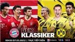 Link xem trực tiếp Bayern vs Dortmund. VTV6 trực tiếp Bundesliga vòng 24