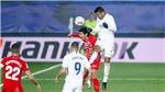 Lịch thi đấu bóng đá hôm nay. Trực tiếp Granada vs Real Madrid. BĐTV, SCTV17
