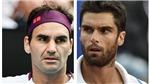Kết quả tennis hôm nay. Federer thua sốc Andujar trong ngày tái xuất