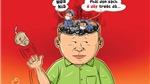 Chùm tranh biếm họa dự thi của họa sĩ Trần Hải Nam