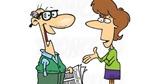 Truyện cười: Vợ vui vì chồng gặp gái xinh