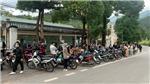 Bắt hơn 200 thanh niên điều khiển mô tô đánh võng trên đường phố núi Tam Đảo