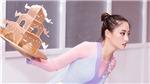 Hoa hậu Lương Thuỳ Linh bầm dập khi tập múa mâm thi Miss World 2019