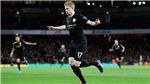 Arsenal 0-3 Man City: De Bruyne tỏa sáng, Man City nhấn chìm Arsenal ngay tại Emirates