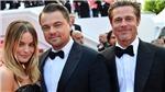 Brad Pitt, Leonardo DiCaprio mặc đồ đôi, tháp tùng mỹ nhân Australia Margot Robbie tại Cannes