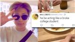 'Đại gia' RM BTS gây choáng khi ăn món này lúc đi du lịch Italy