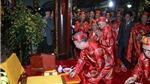 Lễ khai ấn đền Trần chỉ thực hiện nghi lễ truyền thống trong cung Thiên Trường