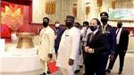 Tổng thống Sierra Leone thăm Nhà Triển lãm Việt Nam tại EXPO 2020 Dubai