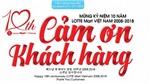 10.000 món quà may mắn mừng hành trình 10 LOTTE Mart tại Việt Nam