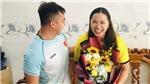 VĐV ném đĩa Nguyễn Thị Hải: Vẻ đẹp của người vợ hiền
