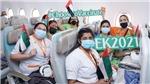 Chuyến bay EK2021 là dấu mốc quan trọng trong hành trình tiêm chủng đầy ấn tượng của UAE