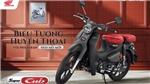 Honda tung phiên bản Super Cub C125 giá 88 triệu đồng